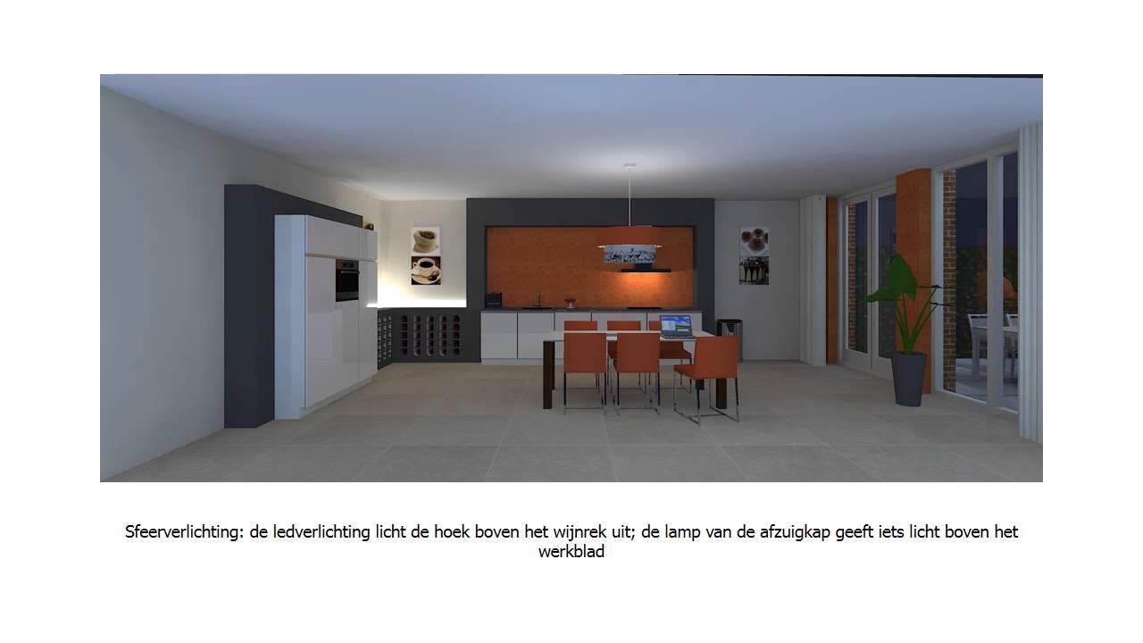 Huis & Interieur | Lichtplan visualisatie - YouTube