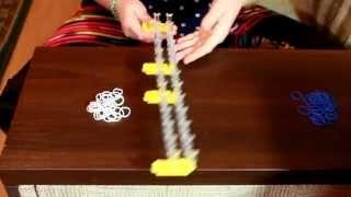 Санёк, урок 1, как сделать простой браслет