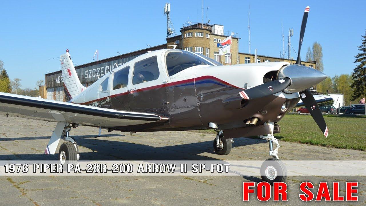 Piper PA-28R-200 Arrow II SP-FOT FOR SALE