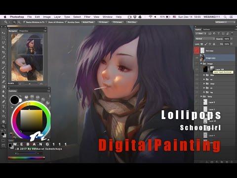 Lollipops [Digital Painting]