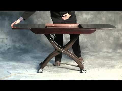 Журнально-обеденный стол трансформер: удобная мебель для современного интерьера