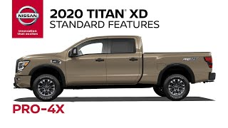 homepage tile video photo for 2020 Nissan Titan XD PRO-4X Walkaround & Review
