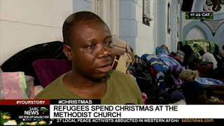 #CHRISTMAS | Refugees spend Christmas at the Methodist Church