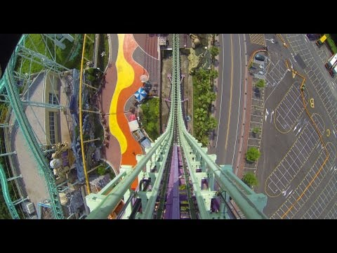 Big Air Roller Coaster POV AWESOME Vekoma Shuttle E-DA Theme Park Taiwan