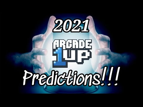 Arcade1up 2021 PREDICTIONS!!! from Show-Me Retro