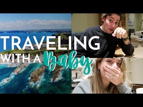 Traveling with a BABY! (Ad)