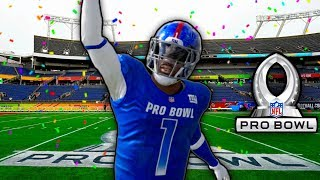 My First Ever Pro Bowl Game.. Madden 20 Face Of The Franchise #16