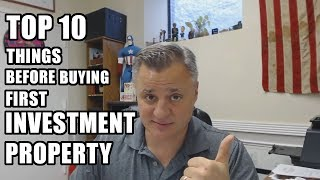 Top Things To Do Before Buying First Investment Property