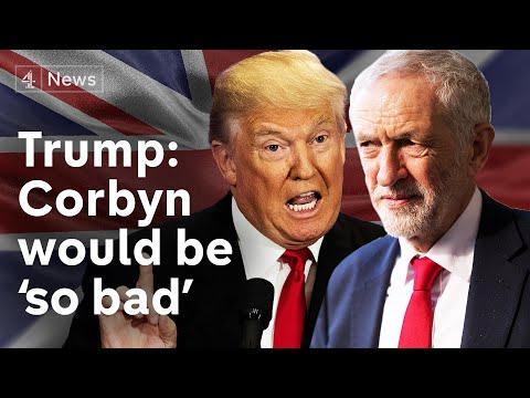 Trump criticises Corbyn as Labour launches election campaign   Brexit