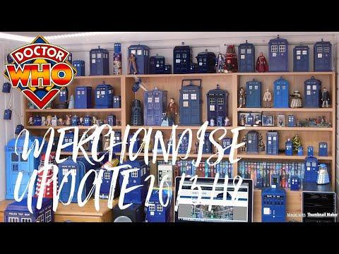 Doctor who merchandise Update 20/3/18