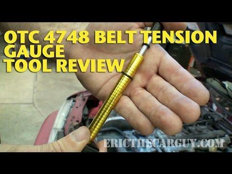 OTC 4748 Belt Tension Gauge Tool Review -EricTheCarGuy
