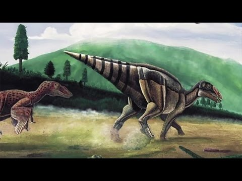 Telmatosaurus transsylvanicus - first dinosaur with a facial tumour