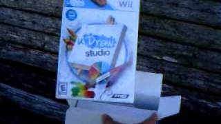 uDraw Studio unboxing for Wii