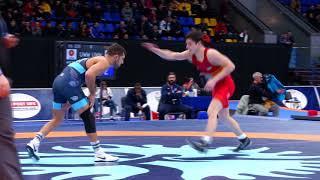 FS   57 kg 18 Final 73 UKR VALENTYN BLIASETSKYI 3 USA FRANK PERRELLI 4