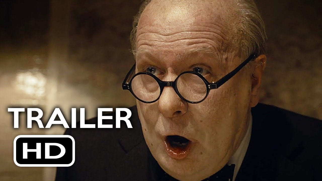 Darkest Hour Official Trailer #1 (2017) Gary Oldman, Lily James ...