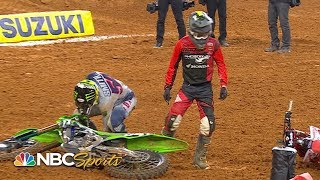 Top crashes from Supercross Round 8 at Arlington | Motorsports on NBC