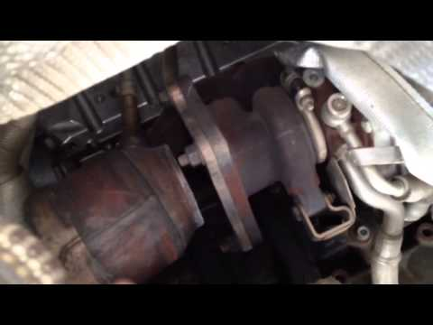 2006 VW Passat Exhaust leak front