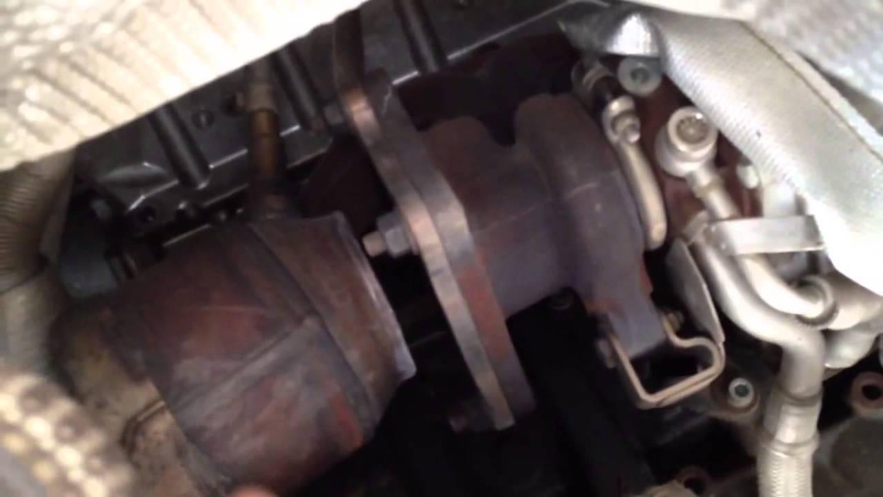 medium resolution of 2006 vw passat exhaust leak front
