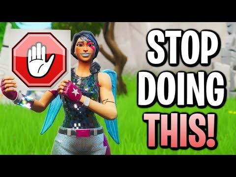Things You Need To *STOP* Doing In Fortnite Season 9!