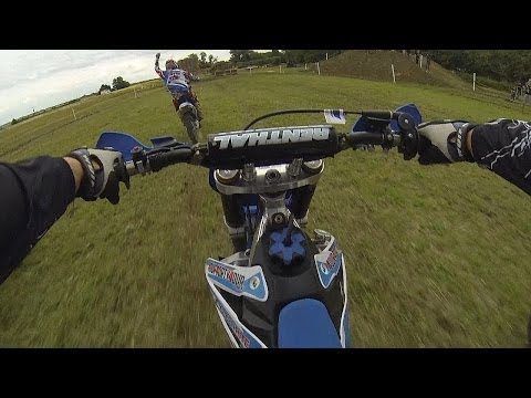 """Ride it like you stole it"" 125 cc Motocross"
