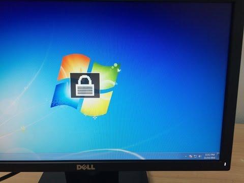 How to unlock / lock OSD Dell E1916He 18 51