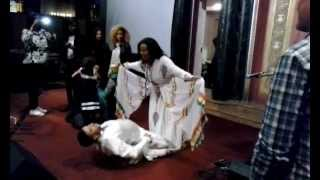 Ethiopian Jews SIGD 2014 celebrations, NYC: dance #5