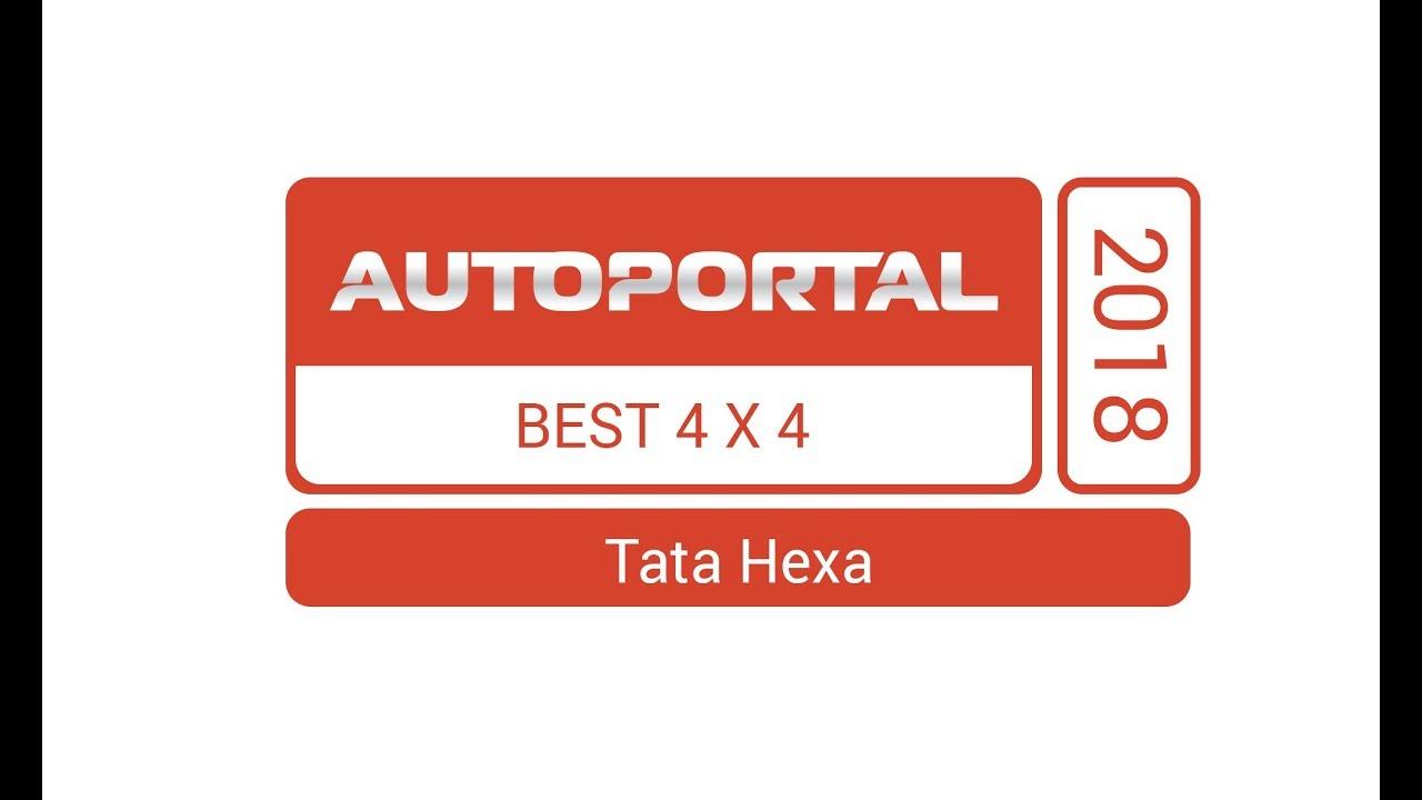 Autoportal Best 4X4 Car 2018 – Tata Hexa