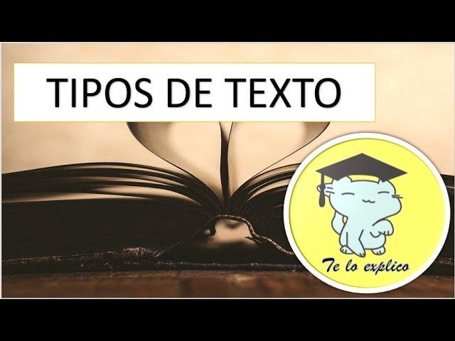 Tipos De Texto Youtube