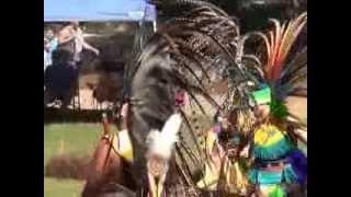 AZTEC dancers at Indian Springs Powwow 9-08-2013