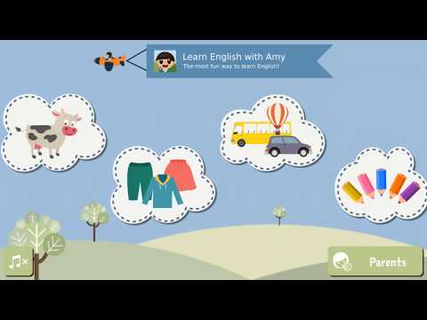 Learn kids English the playful way using our app!