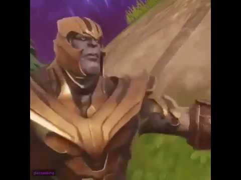 Thanos Fortnite Meme Youtube