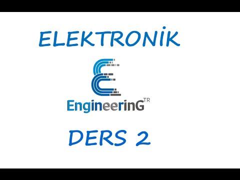 Elektronik Ders 2 Diyotlu Devre Örnek 1