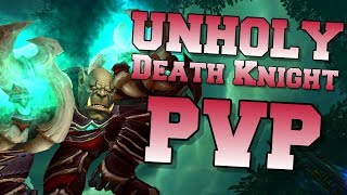 Unholy Death Knight PvP BFA BETA 8.0.1 | Duel & Arena | World of Warcraft Battle for Azeroth
