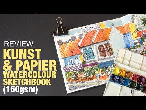 Review: Kunst & Papier Watercolour Sketchbook (160gsm)