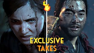EXCLUSIVE TAKES: The Last of Us Part II and Ghost of Tsushima