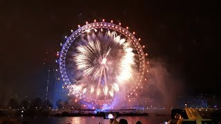 London Fireworks 2019 New Year& 39 s Eve Fireworks 2018 2019 ALSO WITH SOUND TRACKLIST