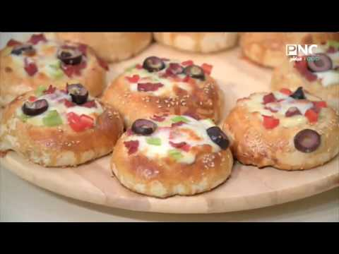 صورة  طريقة عمل البيتزا العزومة مع الشيف فاطمة أبو حاتي   طريقة عمل فطائر البيتزا بكل سهولة طريقة عمل البيتزا من يوتيوب