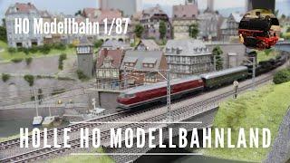 H0 Modelleisenbahn Holle Hessisch Lichtenau (100 m²)