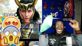 THOR 3: RAGNAROK Official International Trailer 2017 Chris Hemsworth Marvel Movie HD REACTION