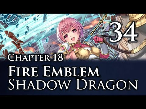 Part 34: Let's Play Fire Emblem Shadow Dragon, Classic Merciless, Chapter 19 -