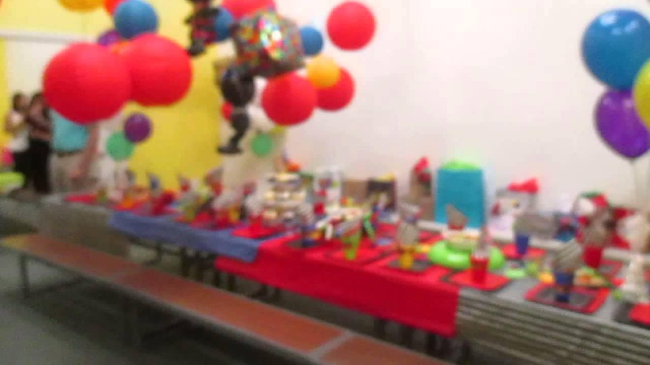 Ninjago Themed Birthday Party At Fun City In Vero Beach Fl Youtube