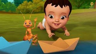 Kagajera Nauka - Paper Boat Kids Song   Bengali Rhymes for Children   Infobells