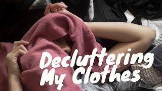 Decluttering My Clothes | Minimal Clothes