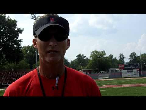 2010 Football Interview -- Head Coach Todd Knight - August 13, 2010