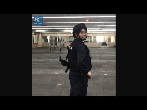Rappelling down 5-story building in 3 seconds: Female SWAT team member goes viral