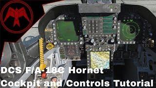 DCS F/A-18C Hornet Controls and Cockpit Tutorial Quick start