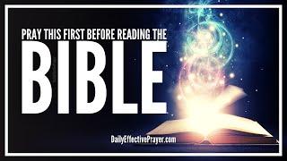Prayer Before Reading Bible   Bible Stขdy Opening Prayer