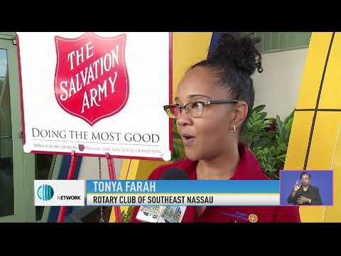 ROTARY CLUB OF SOUTH EAST NASSAU TEAMS UP WITH THE BAHAMAS RED CROSS