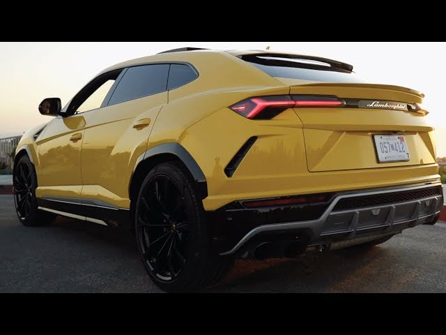 Tour of the 2019 Lamborghini Urus SUV