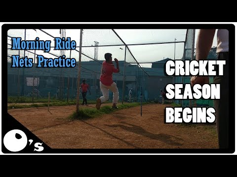 Cricket Season Begins | MotoVlog | Morning Ride